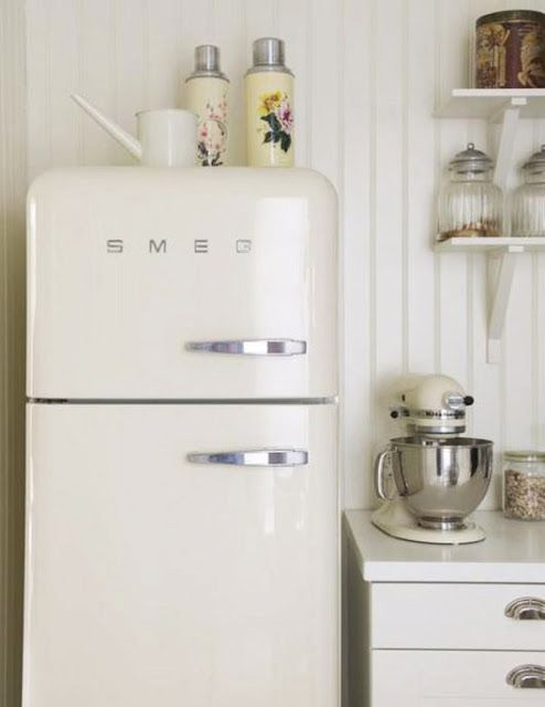 Love the Smeg & Kitcheaid!  Need in orange to match my mixer.