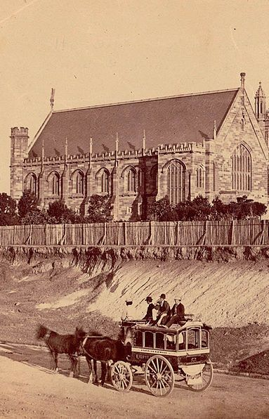 The University of Sydney in the early 1870s