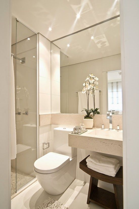 The same arrangement as what I would like in our bathroom. Ideas Deco: SACA EL…
