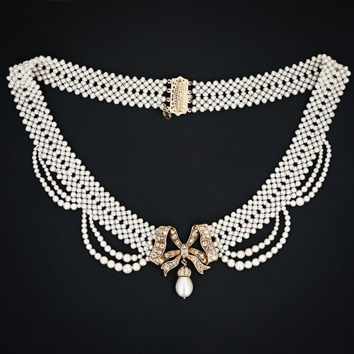 Victorian necklace by angela