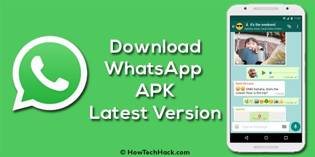 Download WhatsApp 2.17.397 APK for Android – Latest Version 2017 #Download #WhatsApp #v2.17.397 #APK #Android #Latest #Version #HowTechHack #2K17