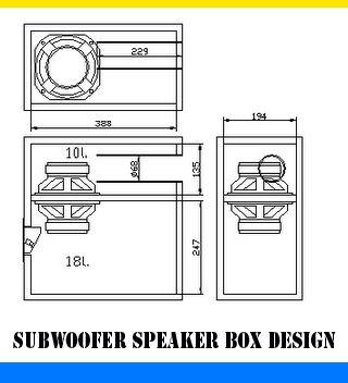 5f480fc0cfed6a5a31a096b4d2e9566a subwoofer speaker subwoofer box subwoofer speaker box design using 5 6\