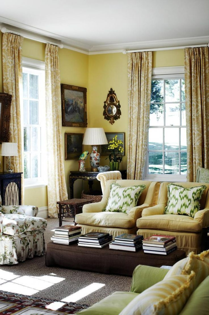 A Charming Countryside Cottage English Country DecoratingYellow