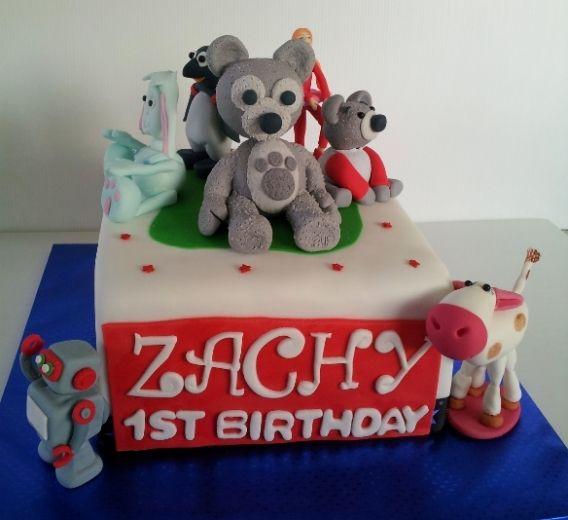 Charlie Bear & Friends  Cake By Creative Cakes