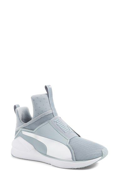 grey puma high tops