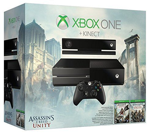 Xbox One Assassin's Creed Unity Bundle - Kinect Sensor Edition - http://www.rekomande.com/xbox-one-assassins-creed-unity-bundle-kinect-sensor-edition/