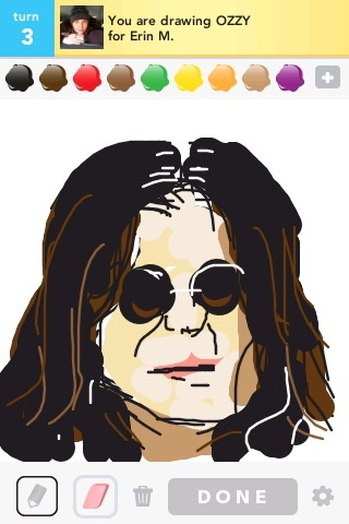 ozzy i drew in #drawsomething xD