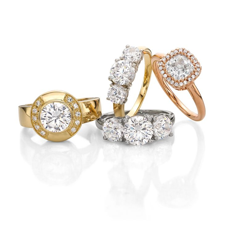Celebrate yesterday, today and tomorrow. Discover @secretsshhh trilogy rings in stores & online.