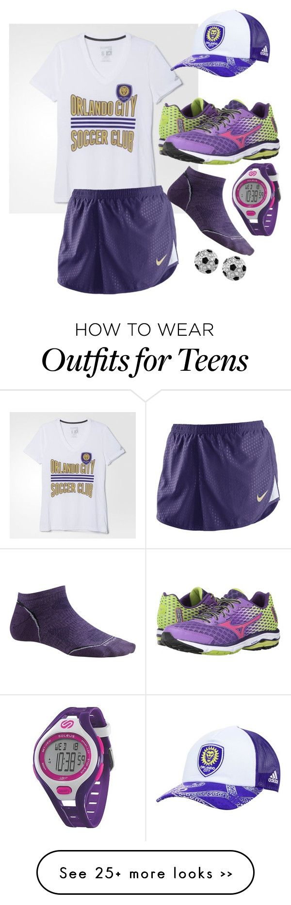 """Orlando city soccer fan"" by kimg-phd on Polyvore"