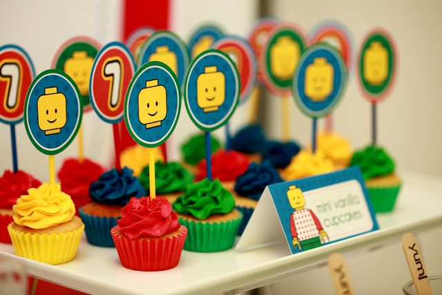 "Photo 1 of 34: Colourful and fun Lego / Birthday ""Lego 7th Birthday Party"" 
