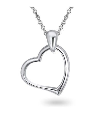 Schlichte Herzkette #gift #christmas #love