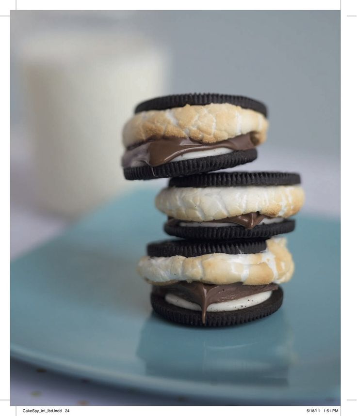 s'more oreos - yessss: Recipes Sweet, Smoreo, Sweet Tooth, Oreo S More, S M Oreo, S More Oreo, S Moreos, Oreo Cookies, Camps Fun