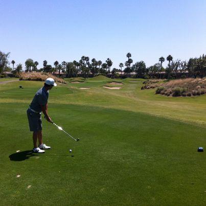 2013 Californian Desert Tour - Dom Salvemini on the 3rd Tee at Nicklaus Tournament Course #Tee #golf #teeoff #swing #golfer #golfcourse #golfing #golfclubs #holeinone #game #endurance #golftours #greengolftours