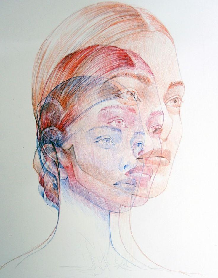 Experimental Ballpoint Pen Art by Ler Huang - JOQUZ