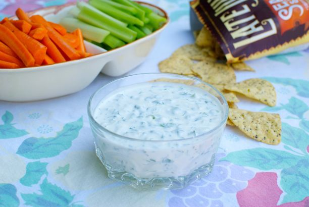A few years ago my friend Christa introduced me to the Cilantro Chive Yogurt Dip at Trader Joe's. I was instantly obsessed. This creamy dip was perfect with crunchy raw veggies, crackers, pita and even spread on wraps and sandwiches. It's kind of like a grown up version of ranch, but with more flavor and …