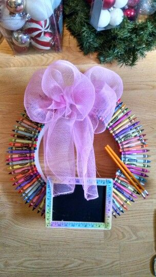 School teacher wreath I Made