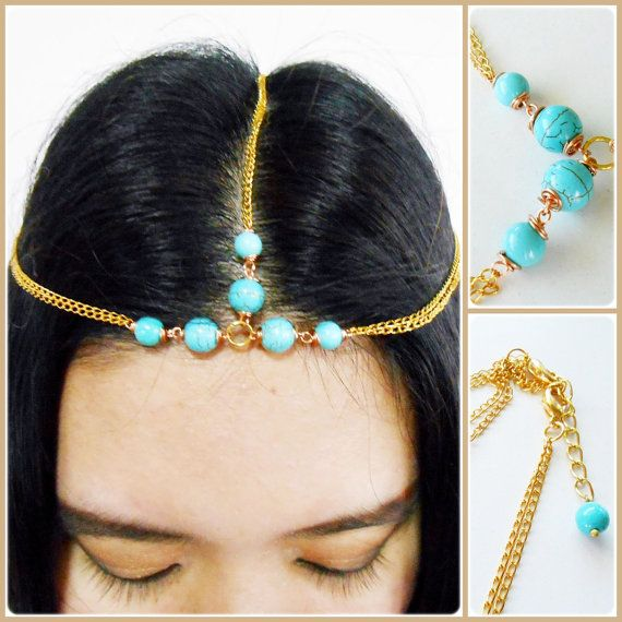 Hair Chain Accessory Summer Golden Amp Silver Chains With