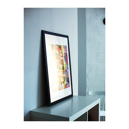 SAXNÄS Frame IKEA Can be hung horizontally or vertically to fit in the space available.