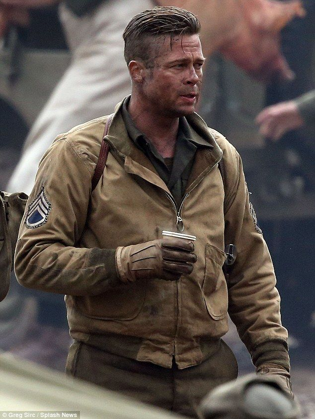 WW2 Style! Rugged and Neutral. Hair is awesome too. To look this good at 50 is my goal.