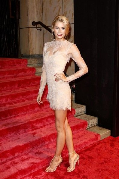Lena Gercke - Arrivals at the GQ Men of the Year Awards