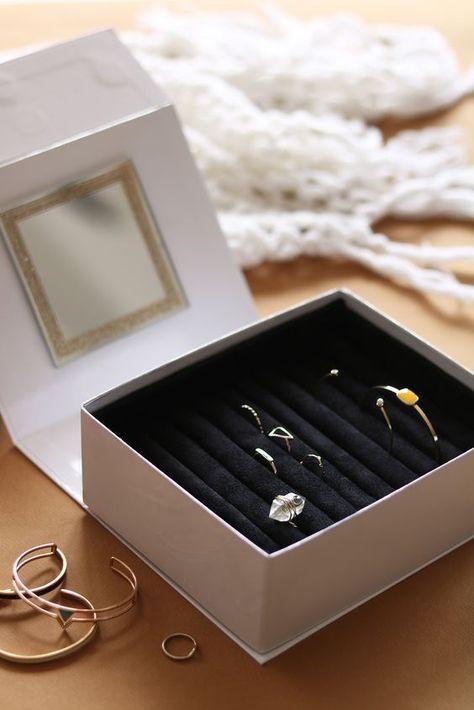 d368d1280f44 DIY boite à bijoux   Apprenez à réaliser une magnifique boite à bijoux en  recyclant votre