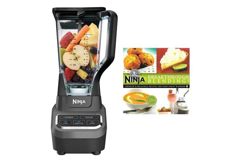 Ninja professional 1000 watt blender 150 recipe book