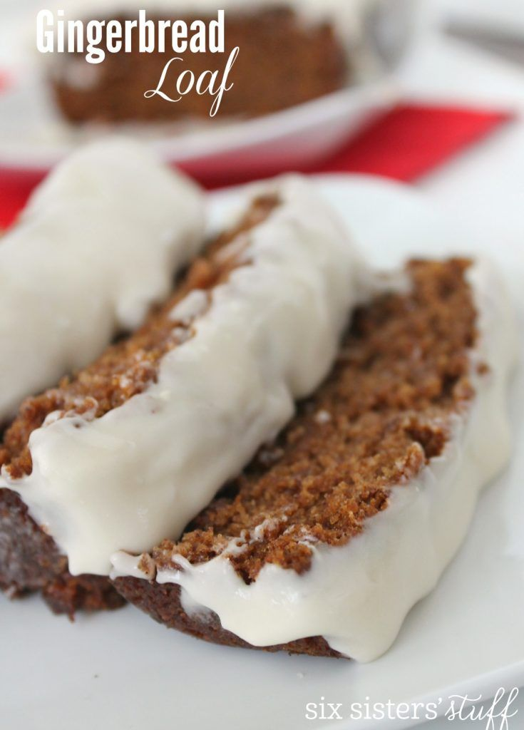 ... Gingerbread Loaf Recipe on Pinterest | Loaf Recipes, Gingerbread and