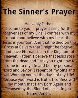 The sinners prayer #Lord #God #Jesus #Christ #Christian #Faith #Believer #Bible... The sinners prayer 🙏🏻 #Lord #God #Jesus #Christ #Christian #Faith #Believer #Bible #Pray #BlessedandFresh #Unashamed #Gospel #Kingdom #Love #I...
