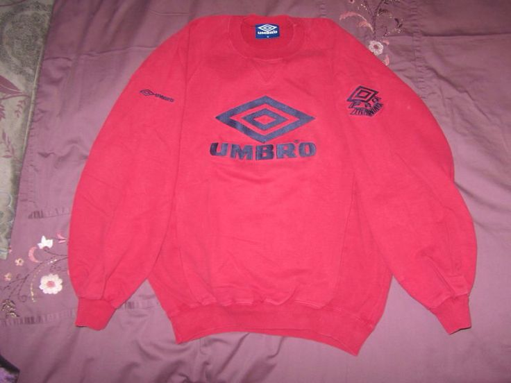 The best sweatshirt Umbro ever made