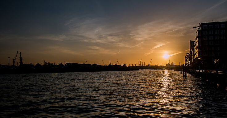 Sunset in Halfen City