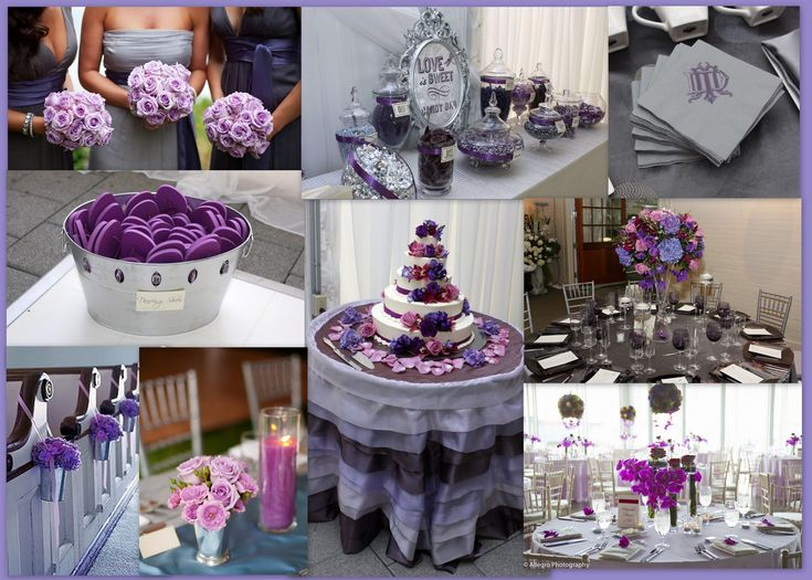 Purple Ideas For Weddings: 25+ Best Ideas About Purple Silver Wedding On Pinterest