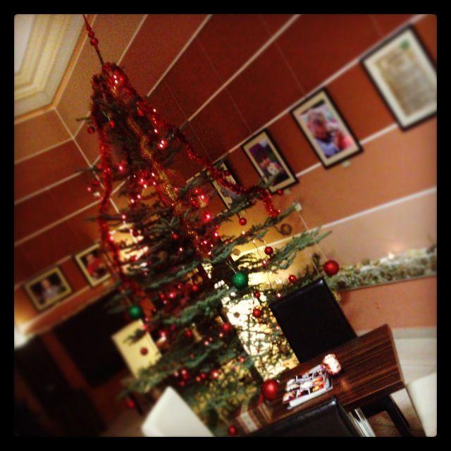 Íme a karácsonyfa