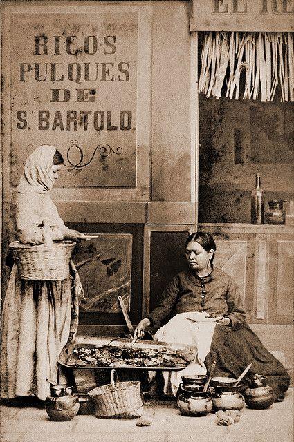 Enchiladera -vintage photo [ MexicanConnexionForTile.com ] #culture #Talavera #handmade