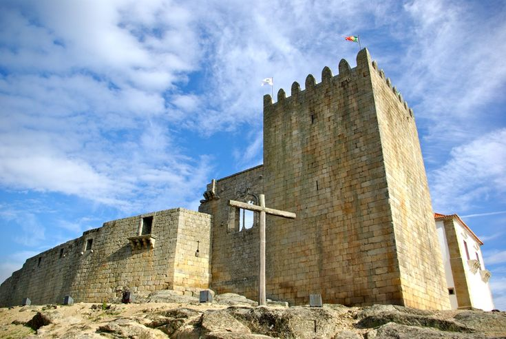 The Cabral's family Castle, in Belmonte, Portugal. Pedro Álvares Cabral was the Portuguese Capitain who discovered Brazil in 1500.