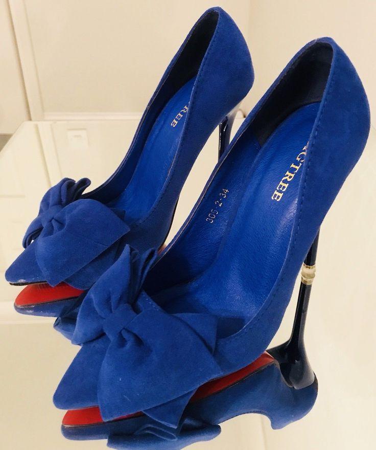 Women's Blue Court Shoes Size 3 BNWOT | eBay