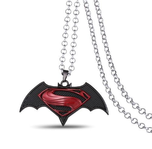 Batman With Superman Dawn of Justice Necklace //Price: $9.95 & FREE Shipping //