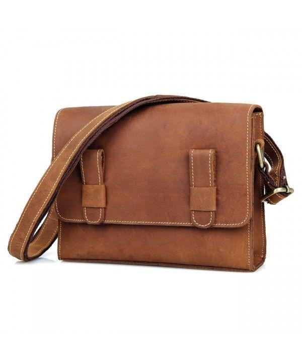00aa407c4c Women's Bags, Satchels, Clearance Distressed Genuine Leather Vintage  Crossbody Bags Satchels School Bags on Sale - Dark Brown - CT12O6E3W31 # Women #Fashion ...