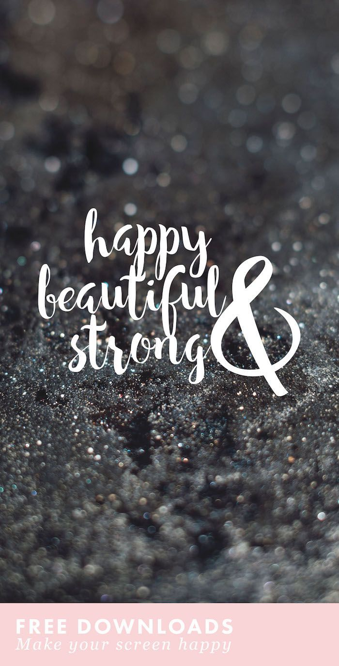 Beautiful free desktop and phone backgrounds on body positivity. Live empowered…