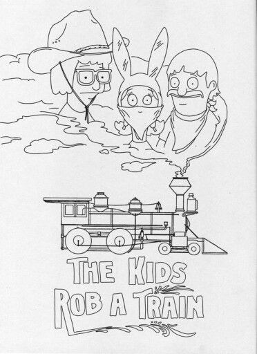 Louise Bobs Burgers Coloring Pages Coloring Pages