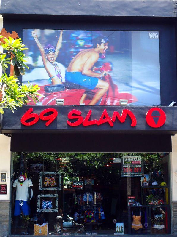 Sanur (Bali, Indonesia) 69slam Concept Store Front Window