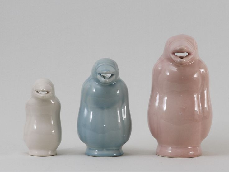 pinguinos jarra lisos