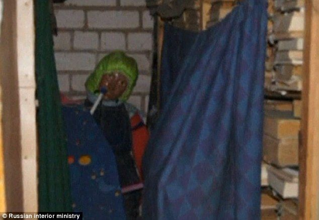 Pictured: Inside the house of horrors where Russian historian held birthday parties for 150 little girls he had dug up from their graves and mummified       Anatoly Moskvin exhumed 150 corpses of girls aged between three and 12     He dressed decomposing bodies and skeletons in stockings and dresses      Mummified the corpses, gave them names and even held birthday parties     Macabre obsession was discovered when his parents visited him in 2011