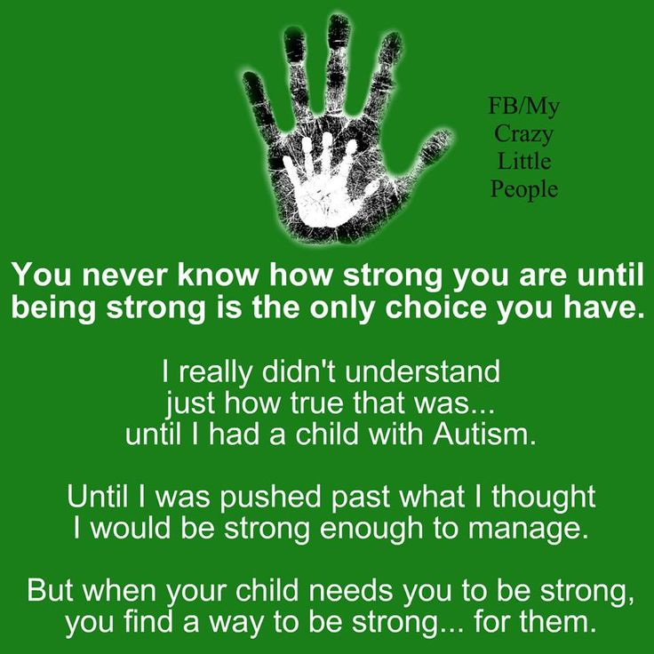 You find a way to be strong.. for them xx This could apply to so many things!