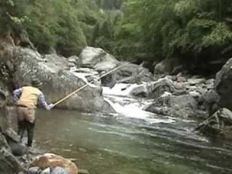 La pesca a mosca valsesiana praticata con la tradizionale canna in legno: da un lato la tecnica è affascinante e rende l'idea di come si pescava un tempo anc...