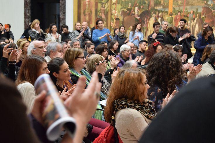 Grandi applausi per concludere la conferenza stampa! #art #pinacotecabrera #milan #brera