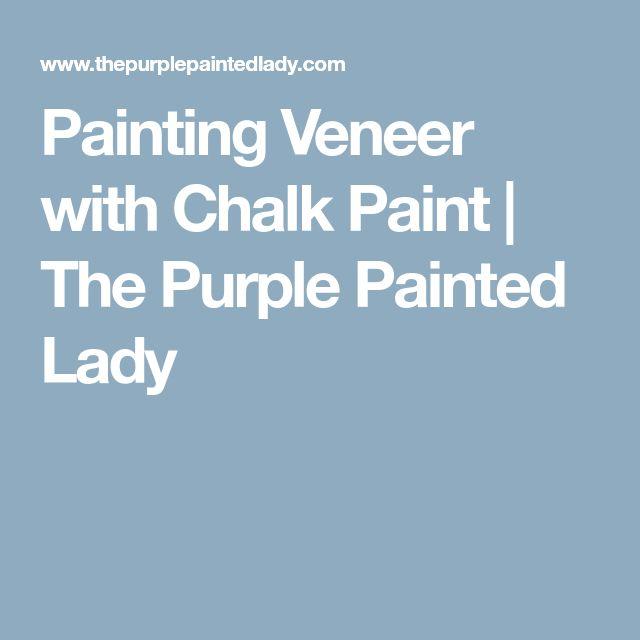 Best 25 Painting Veneer Ideas On Pinterest Diy