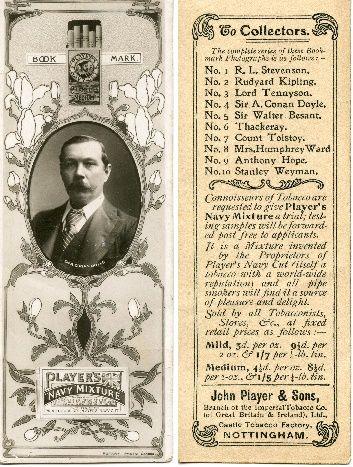 John Players - No4 Sir A Conan Doyle