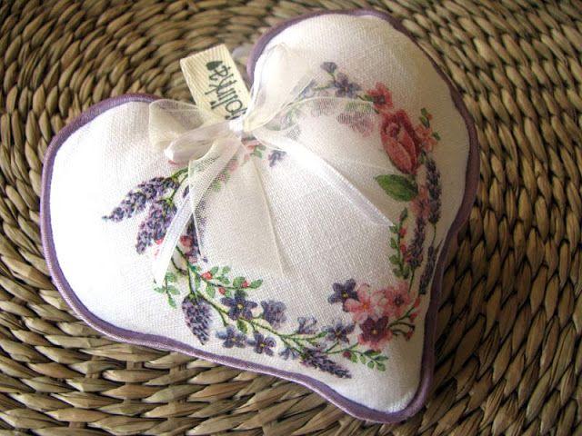 Serduszka Jolinki  #fabricdecoupage  #jolinka  #serce#heart  #coeur #corazon #cuore #coração