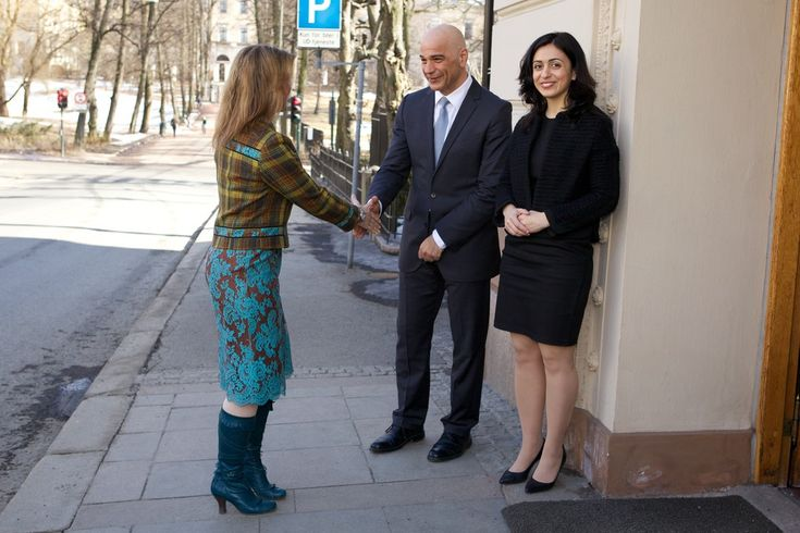Princess Martha Louise and Hadia Tajik Photos Photos - Princess Martha Louise Visits Oslo - Zimbio