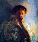 "New artwork for sale! - "" La Penserosa C 1904 1908 by DeCamp Joseph "" - http://ift.tt/2Ak4hIW"